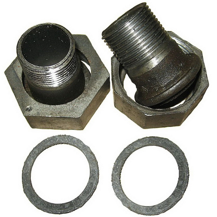 Накидные гайки (адаптеры) Ду25 сварка комплект