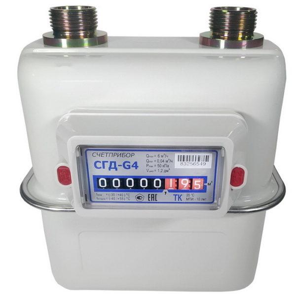 Счетчик газа СГД G4 (Ду32) аналог ВК, NPM G4 левый / правый