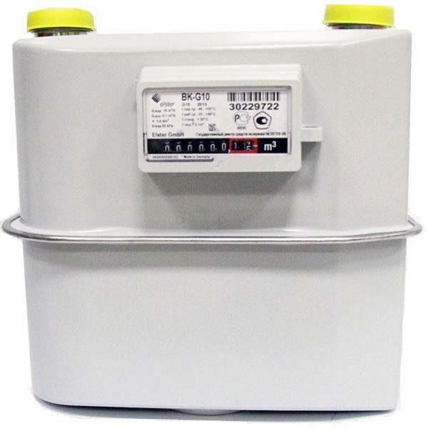 Счетчик газа ВК G10 (250мм)