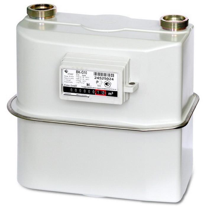 Счетчик газа ВК G10 (280мм)