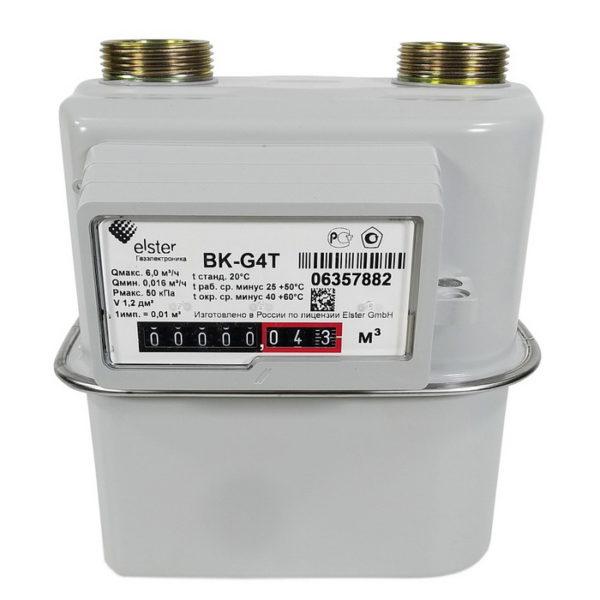Счетчик газа ВК G4Т (110 мм) левый / правый