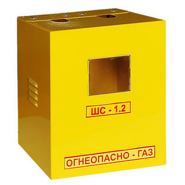 Шкаф для уличной установки газового счетчика G4 б/дверцы (Корпус ШС-1,2)