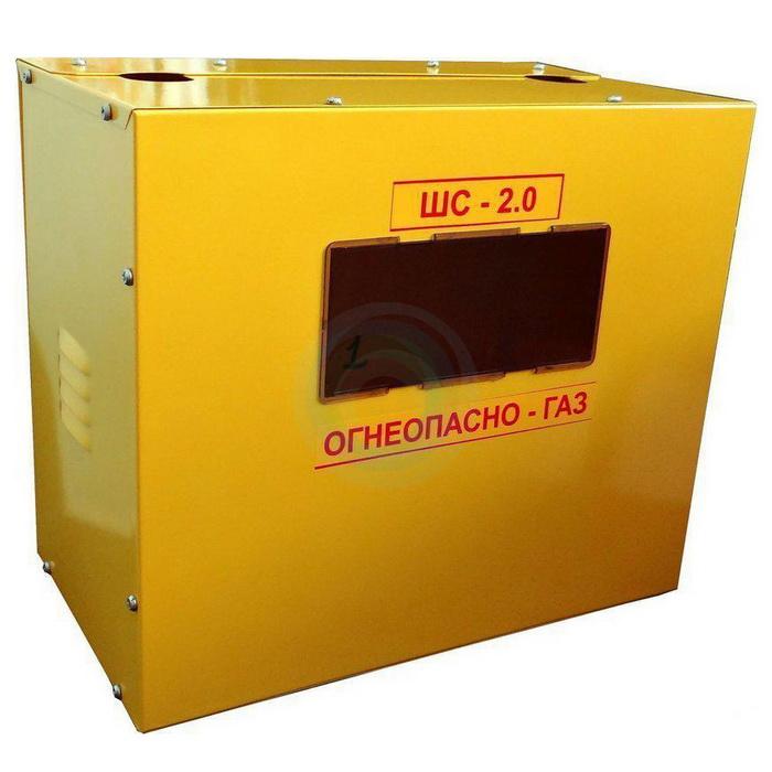 Шкаф для уличной установки газового счетчика G6  (200 мм) б/дверцы (Корпус ШС-2.0)